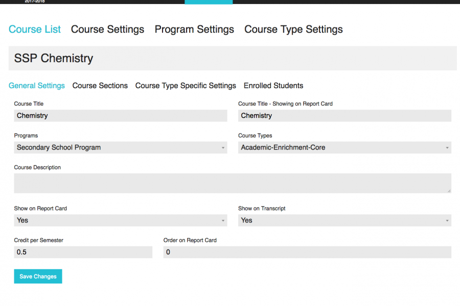 Course And Schedule Modules 04